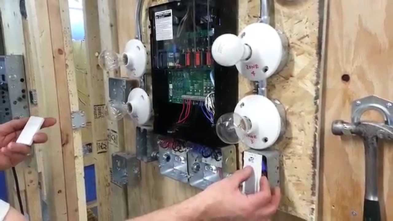 maxresdefault lutron low voltage switching youtube low voltage relay wiring diagram at fashall.co