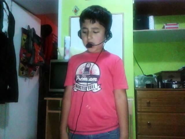 Niño cantando prince royce-quiero darte un