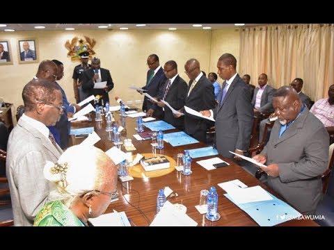 Vice President Bawumia inaugurates new Bank of Ghana board