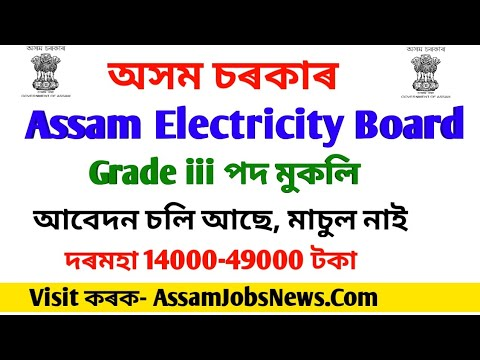 Assam Electricity Board Recruitment 2019
