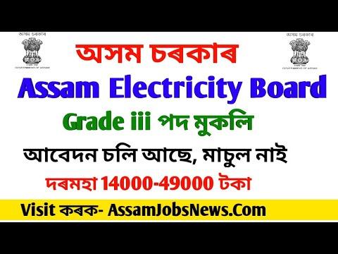 Assam Electricity Board Recruitment 2019