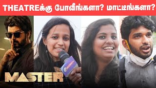 Master: Are people Ready to Watch Master FDFS Despite Corona Pandemic? | Vijay