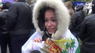 Пловдивчани протестираха пред Общината с искане за по-добър живот