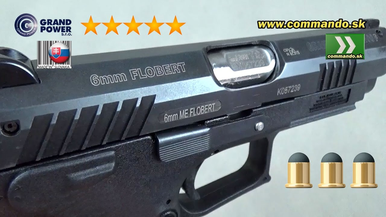 Grand Power Flobert Pistol K100F MK7/1 6mm ( 22)