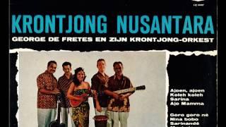 George De Fretes En Zijn Krontjong Orkest   Sarinande 1958