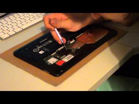 Dell Venue11 Pro (7140) - Festplatten wechel