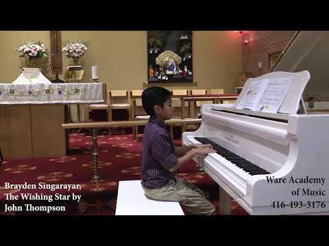 "Brayden Singaraya, ""The Wishing Star"" By John Thompson"