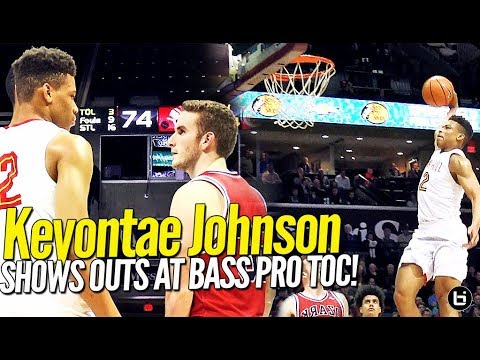 Oak Hill Keyontae Johnson Shows OUT in Packed Arena at Bass Pro ToC!
