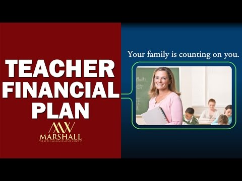 Teacher's Financial Plan - Marshall Wealth Management Group
