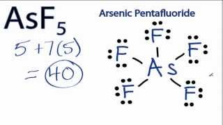 asf5 lewis structure how to draw the lewis structure for asf5