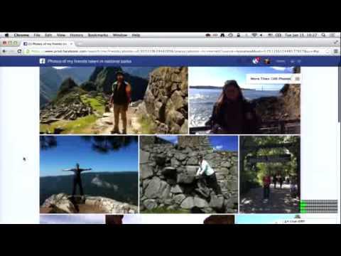 Lanzamiento de Facebook Graph Search (Video completo)