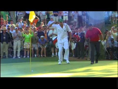 Tiger Woods • 2005 Masters • 16th Hole • Chip-In ...