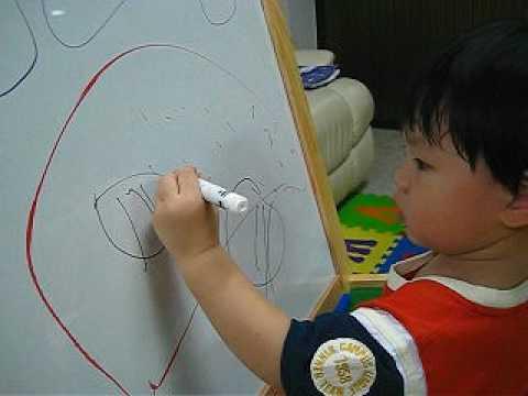 น้องเจตน์วาดรูปผลไม้ต่างๆ@2Y2M