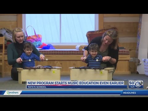 Tates School starts music education even earlier