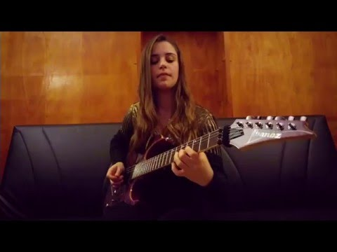 Annihilator - Alison Hell - Guitar Solo Cover by Eleonora Serri ... 87f47d585ec