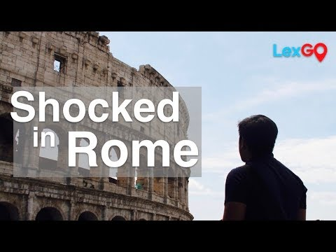 Rome: 6 Shocking Realities for First Time Pinoy Visitors
