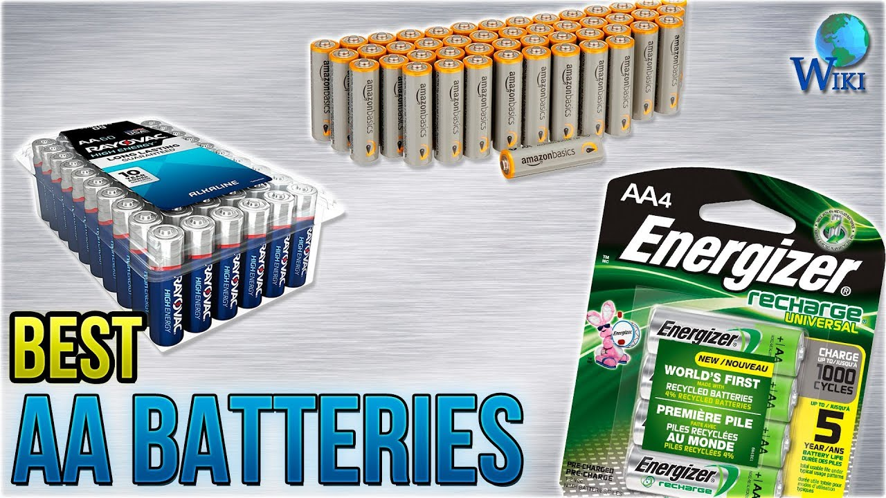Batterie Aa 8 Best Aa Batteries 2018