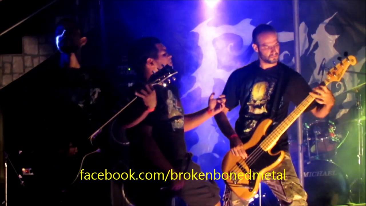 Download Broken & Boned - False Divinity [Live at Grito Rock 2015]