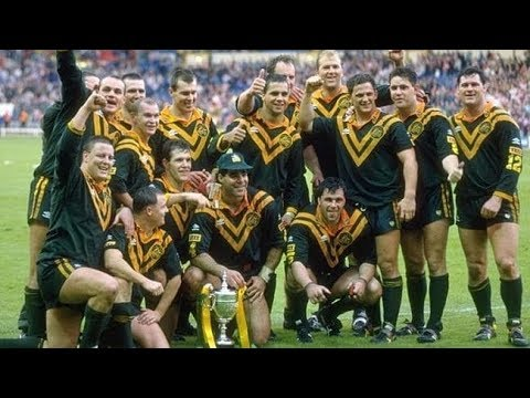 Kangaroos Vs Great Britain 1992 Rugby League World Cup
