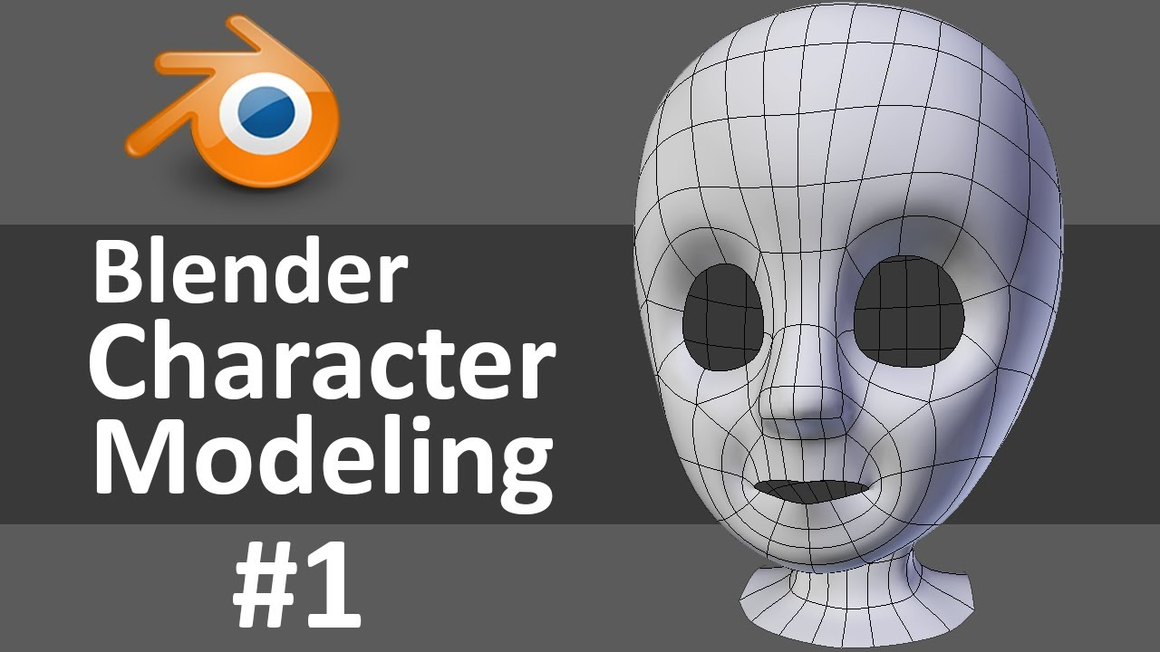 Blender Character Modeling Tutorial Beginner : Make a cartoon character in blender ankaperla