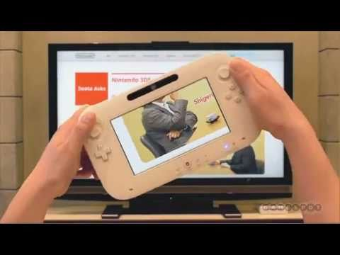 Nintendo Wii U Controller - E3 2011 Preview