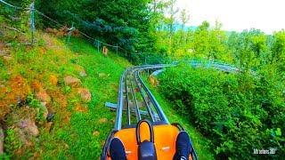Alpine Coaster - Longest Downhill Track - Smokey Mountain Alpine Coaster