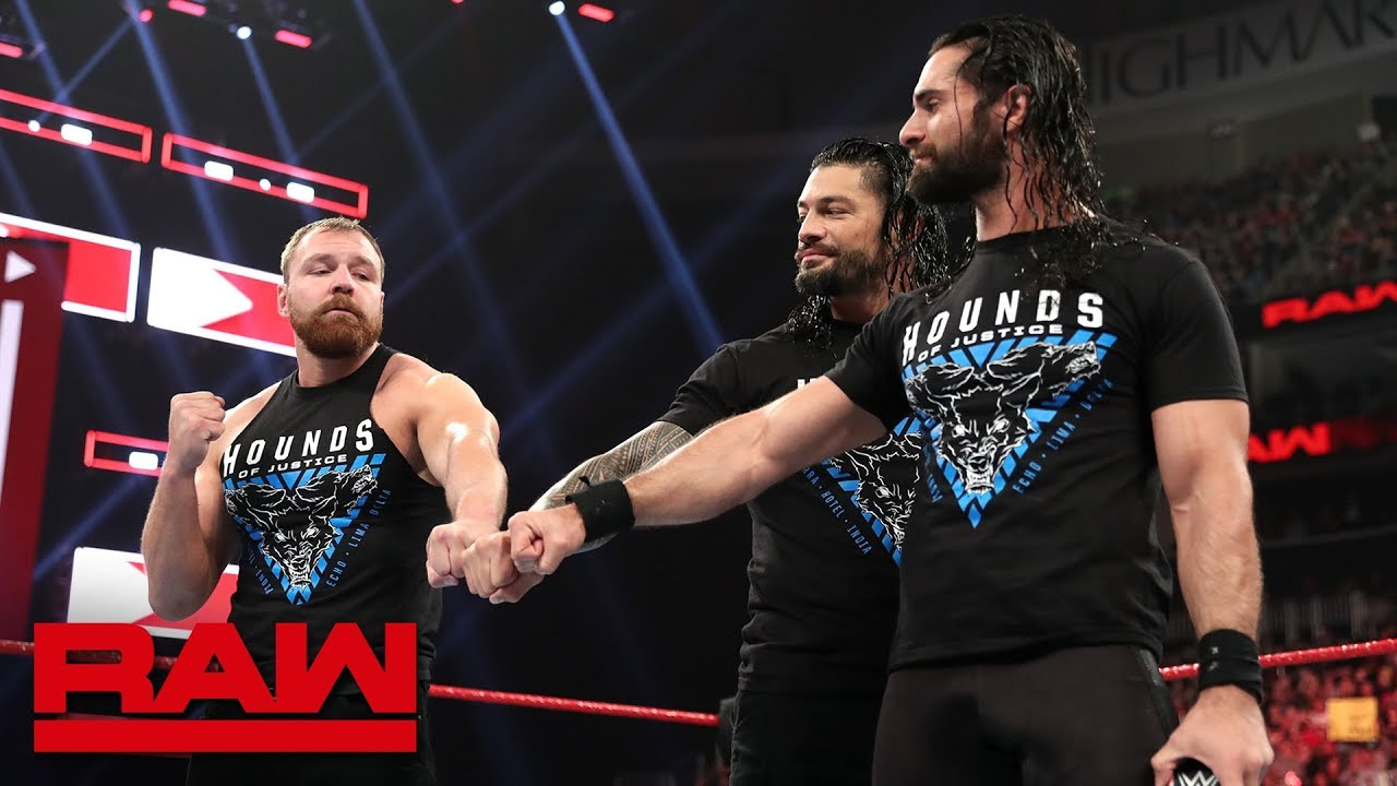 The Shield deliver a farewell address: Raw, March 11, 2019