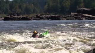 Combat Rolls - Rolling a Kayak in Whitewater