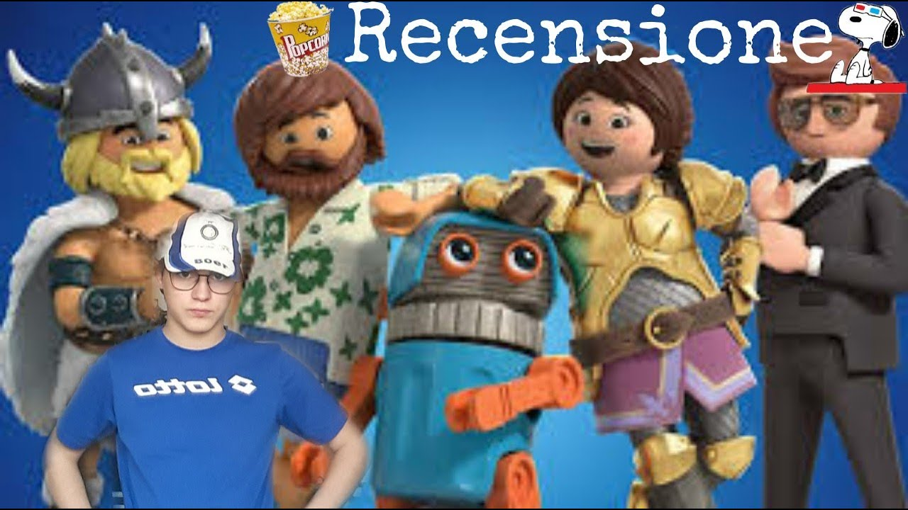 Download Recensione Universale: Playmobil The Movie