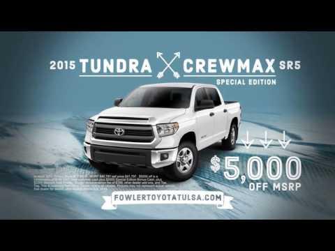 Fowler Toyota Tulsa Grandpa Jokes 2015 Tundra Crewmax Tulsa Broken Arrow Ok Youtube