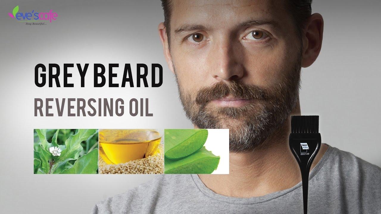 Grey Beard Reversing Oil Beard Oil Get Rid Of White