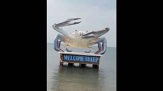 Travel to Cambodia,Beach,Beauty beach of Kep,  (Kep),2018