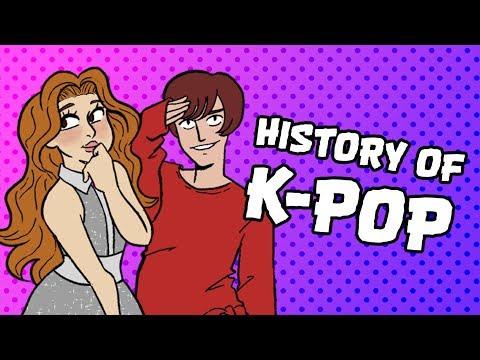 The Cartoon History Of K-POP
