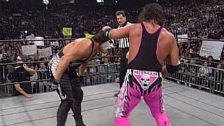 WWE Network: Stings vs. Bret Hart – WCW Titel Match: WCW Monday Nitro, 18. Oktober 1999
