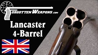 Download Video Lancaster Four-Barrel Shotgun With Double-Action Trigger MP3 3GP MP4