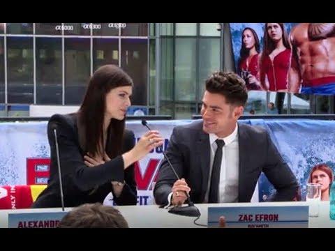 Zac Efron & Alexandra Daddario - Cute Funny Moments (Perfect Team)