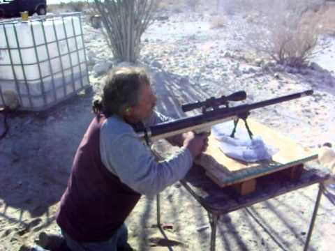 Charles Shooting 50 Bmg Lar Grizzly 2 18 2012 Youtube