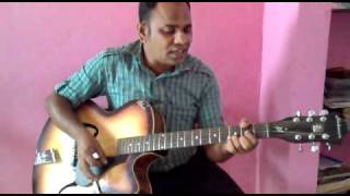BHIGE HOTH TERE ON GUITAR