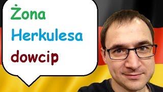 Żona Herkulesa - dowcip - język niemiecki - gerlic.pl