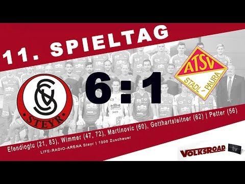 SK Vorwärts Steyr vs. ATSV Stadl-Paura 6:1 (1:0) | Spieltag 11