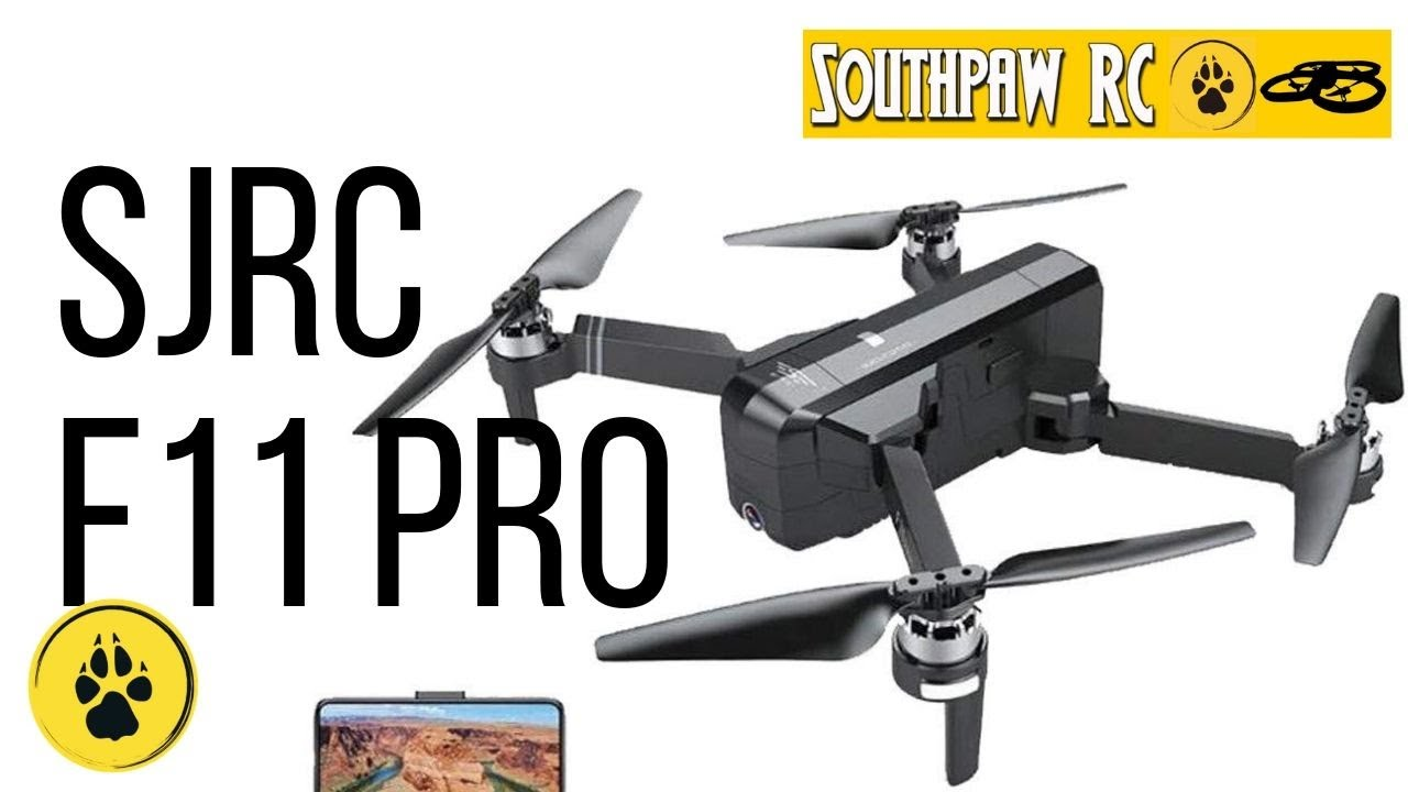 SJ/RC F11 Pro 2K GPS Drone Flight Review with Video