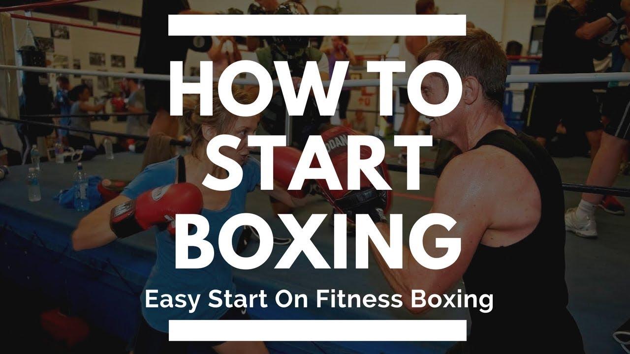 How To Start Boxing - Easy Start On Fitness Boxing Training