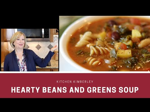 Hearty Beans And Greens Soup