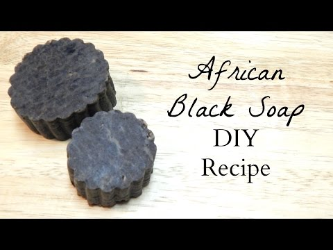 How to Make: African Black Soap DIY Recipe (All Natural Soap Making for Beginners)