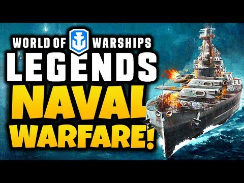 NAVAL WARFARE! - World of Warships: Legends