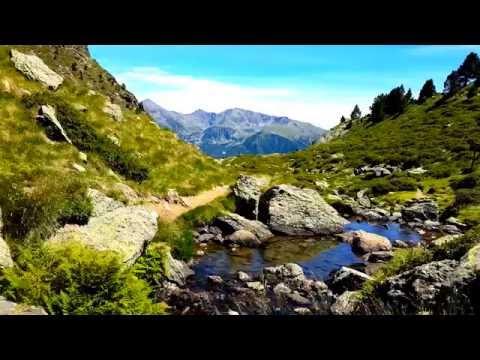 Lago de Ordino en Andorra 4K 2160p