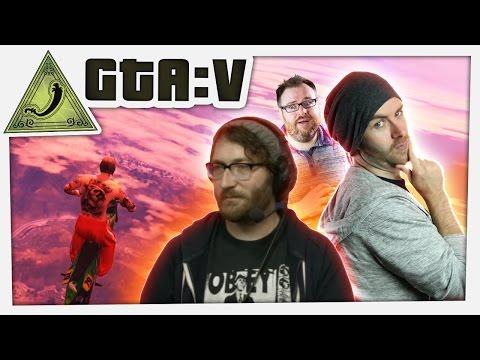 GTA 5 Funny Moments with Simon - Sjin and Angor Origins