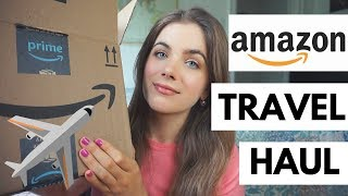 Amazon Travel Essentials HAUL + My New Camera Setup For Travel!