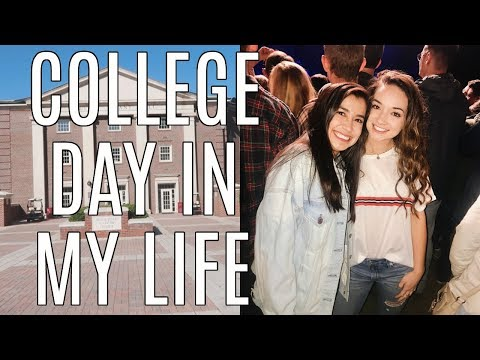 COLLEGE DAY IN MY LIFE: classes + going to a concert