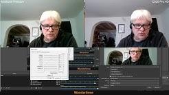 Zwei Webcams einrichten, verwenden in OBS - super für Tutorials (C920 Pro HD)